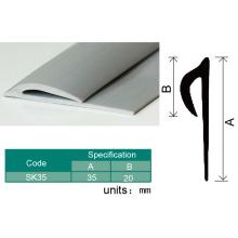 Instalação fácil tampando da tira dura do PVC do revestimento plástico do vinil