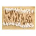 Promotional Wooden Stick Cotton Swab, Makeup Cotton Swab 100% Cotton
