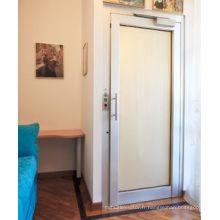 Ascenseur à la maison sans ascenseur hydraulique avec la porte manuelle