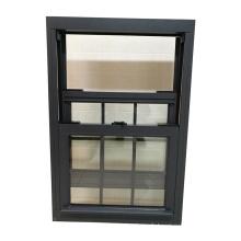 Fenêtre à double guillotine en aluminium de haute qualité