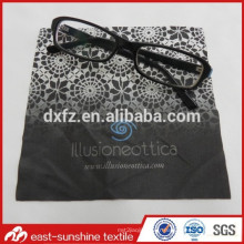 Lunette en tissu en microfibre en vrac, Tissu en microfibres doux pour chiffon de nettoyage pour lunettes