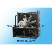 Material de cobre de alta qualidade Radiador Mtu 16V165te3