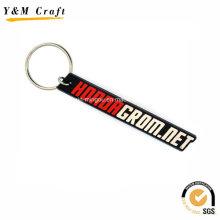 Porte-clés en caoutchouc de silicone en gros usine Ym1129