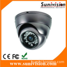 sony ccd 650 tvl ir dome cctv camera with 24pcs ir leds and 3.6mm len