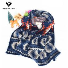 2016 Зимний жаккардовый зигзаг с рисунком Модный шарф