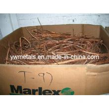 Factory Copper Wire Scrap, Copper Scrap 99.99% Pure