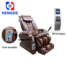 Nota operada cadeira de massagem para uso comercial