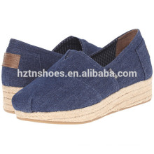 Cheap Wholesale Espadrille Shoes Femme Casual 2016 Ladies Flat Shoe