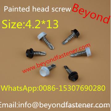 Self Drilling Screw 4.2*13 Color Head Screw