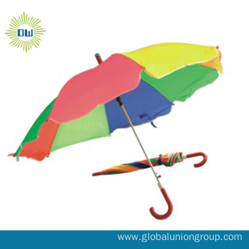 Auto Open  Rainbow Color Umbrella