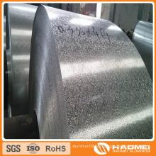 Konkav-konvex / halbkugelförmig / klassisch orange PEE / flach-oben Kiesel / gewölbt / Wove Aluminium Präge-Spule