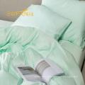 Alibaba atacado cobre conjunto de cama de bambu, hotel roupa de cama