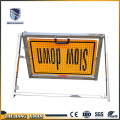 customize message useful traffic warning board
