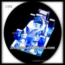Belle bouteille de parfum en cristal C182