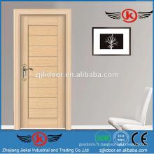 JK-SW9301-3 portes en bois de luxe en bois de chêne