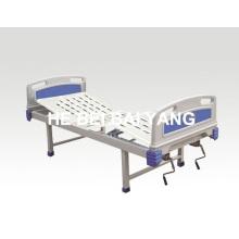 A-98 lit d'hôpital manuel à double fonction