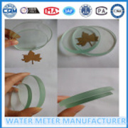 High Transparent Glass Water Flow Meter Use