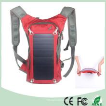 Wasserdichter Polyester 6.5W Radfahren Klettern Wandern Reisen Solar Power Rucksack (SB-178)