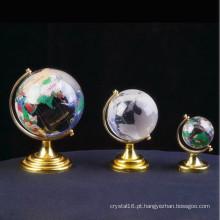 Globo de vidro colorido personalizado para presente de negócios