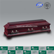 LUXES German Style Coffins Wooden caskets For Cremation