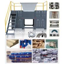 Déchiqueteur de déchets métalliques / déchiqueteuse de déchets solides municipaux