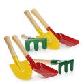 детский садовый инвентарь маленький цветной садовый набор инструментов