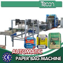 50 Kilogram Kraftpaper Bag Producing Machinery for High Quality Chemical Material