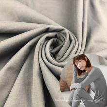 super soft both sides brush warm lycra 23 polyester 77 fabric for nightwear
