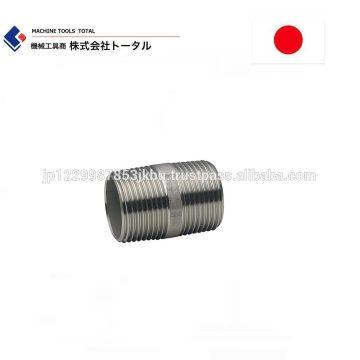 Stainless Steel Pipe Fittings Barrel Nipple Made In Japan