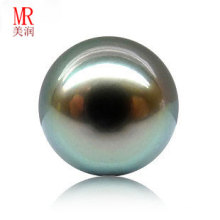 Perles habillées noires tahitiennes de 11 mm