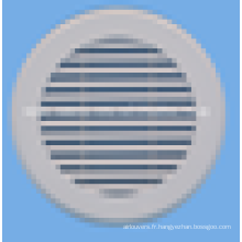 Aluminium rond diffuseur d'air