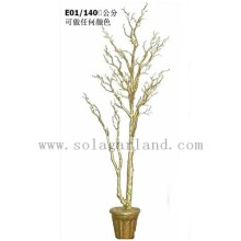 Latest Design Wholesale 140CM Artificial Outdoor Wedding Decoration Tree Wishing Tree