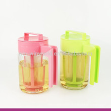 2017 neues Produkt Kunststoff BPA Freies Wasser Brew Tee Maker / Topf