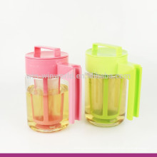 2017 New Product Plastic BPA Free Water Brew Tea Maker/Pot