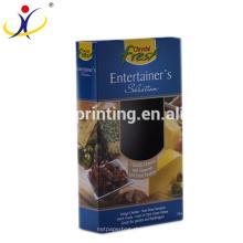 Kundengebundene Form! Großhandelseinzelhandel-weißer Papppapier-Kasten, der für Käse verpackt