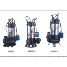 Pompe d'eaux usées submersible en acier de série V