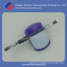 Pen Holder Memo Magnetic Clip Promotional Plastic Magnetic Clip