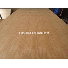 Precio de la madera contrachapada de la teca de 4m m para la decoración / 4m m teca v