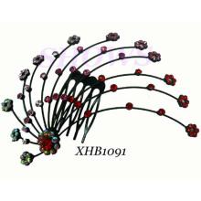 Bijoux Cheveux Mode / Peigne Cheveux Diamant / Peigne Cheveux (XHB1091)