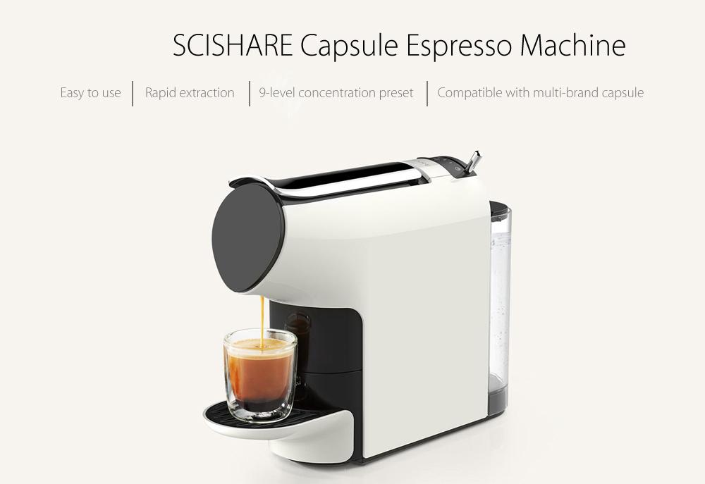 Scishare Coffee Machine