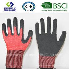 Порезов безопасности перчатки с латексной пены покрытием защитные перчатки