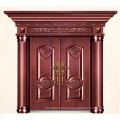 Lujo Imita las puertas exteriores de bronce para los hogares