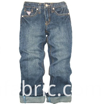 800 Children Jeans 100 Cotton Long Indigo Pants Jpg