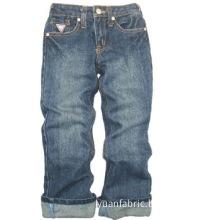 Children Jeans 100% Cotton Long Indigo Pants