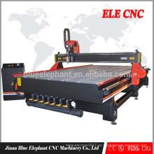 El mejor precio MDF cnc máquina de grabado de madera con Taiwán HIWIN guía lineal