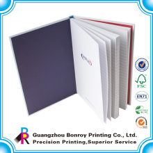 Impressão de caderno de capa dura de coloração personalizada