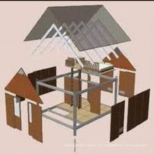 Prefab Estructura de acero Casas para Vivir (MV-06)