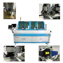 Ranura de fresado y extracción de antena de la máquina