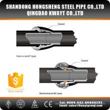 Tubulação de ferro dúctil K9 ISO2531