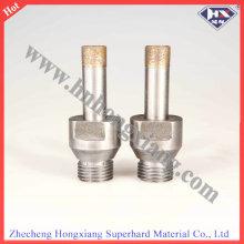 75L 1/2 Screw Diamond Drill Bit for Glass